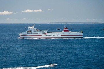 """El buque """"Ciudad de Ibiza"""", de nuevo en servicio"""