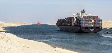 El Canal de Suez, importante vía de comunicación mundial