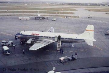 Douglas DC-6A de Spantax alquilado por Iberia (1965)