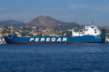 """El buque rolón """"Festivo"""" cubre la línea Algeciras-Ceuta"""