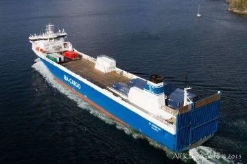Este es el buque de sea Cargo elegido para la instalación de rotores Flettner