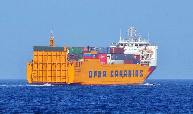 """El buque """"OPDR Andalucía"""" tiene problemas de propulsión"""