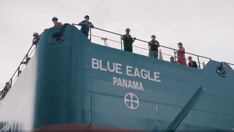 """El buque """"Blue Eagle"""" es un contrato para México"""