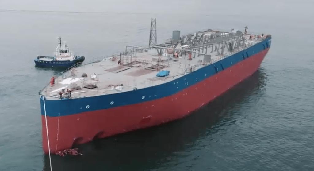 """El casco del FPSO """"Blue Eagle"""" ha sido construido en Turquía"""