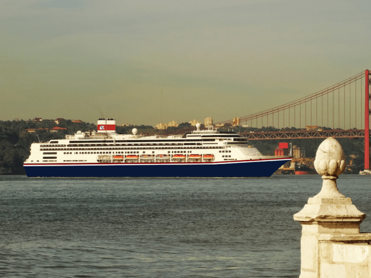 Este será el aspecto exterior de los nuevos buques de Fred. Olsen Cruise Line