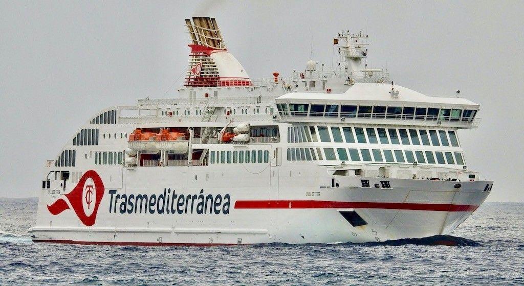 """El ferry """"Villa de Teror"""", novedad de verano en Canarias"""