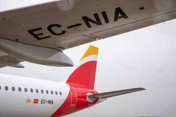 EC-NIA, segundo A321 de Iberia Express