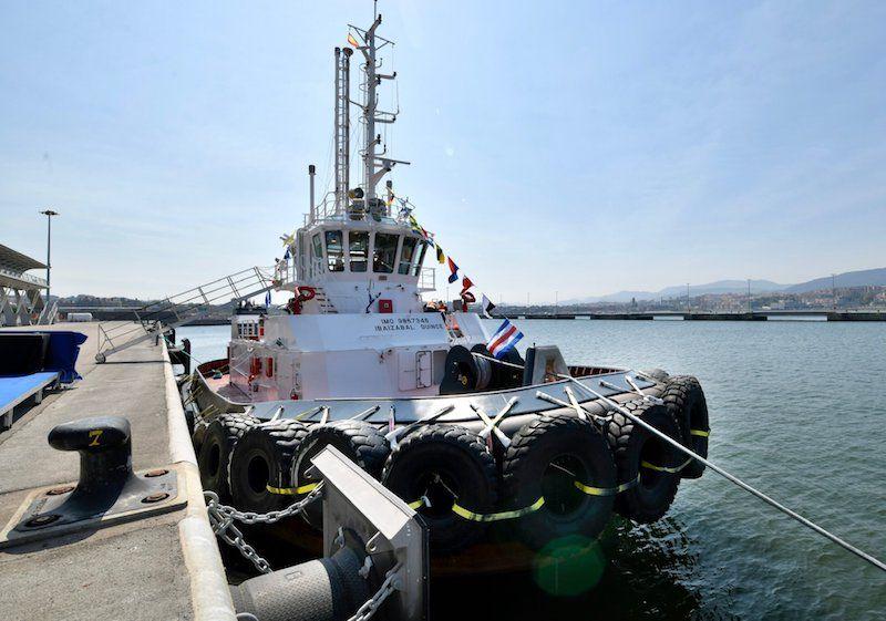 """El remolcador """"Ibaizábal Quince"""" ha sido construido en Astilleros Murueta"""