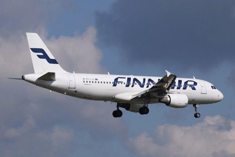 El retorno de Finnair a España lo ha hecho con un avión A320