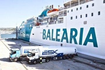 Suministro MTTS de gas natural en el puerto de Denia