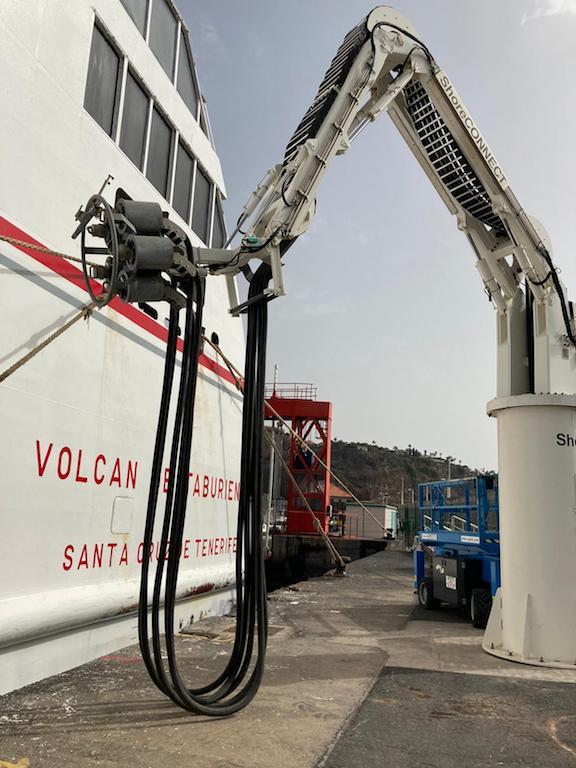 """La Gomera es el primer puerto """"cold ironing"""" de España"""