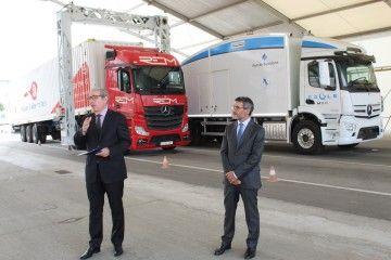 Presentación del nuevo escáner de Port de Barcelona