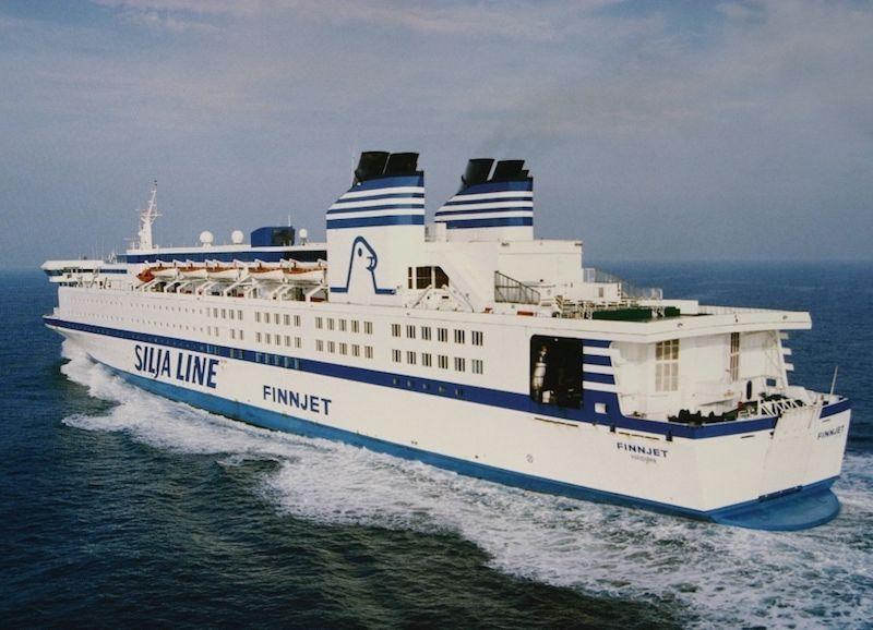 """El ferry """"Finnjet"""" ha sido un barrio único en su clase"""