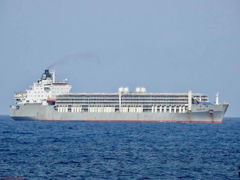 """El buque """"Bader III"""", ex """"CGM Renoir"""""""