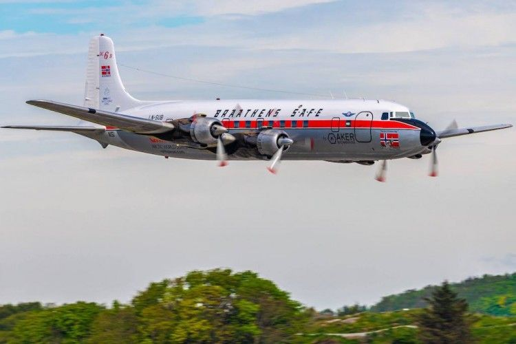 Douglas DC-6B de Braathens SAFE