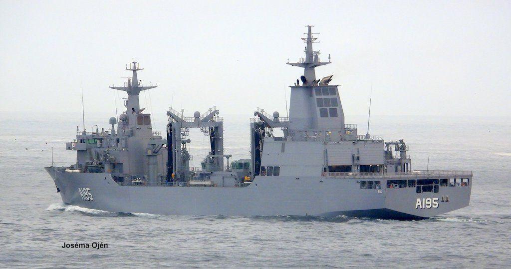 """El AOR """"Supply"""", en demanda de mar abierta"""