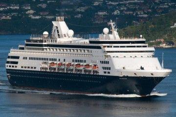 """El buque """"Maasdam"""", ahora en manos de Seajets, lo mismo que su gemelo """"Veendam"""""""