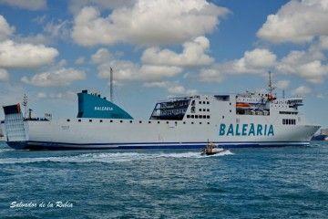 """El ferry """"Sicilia"""" es un Visentini de primera generación"""