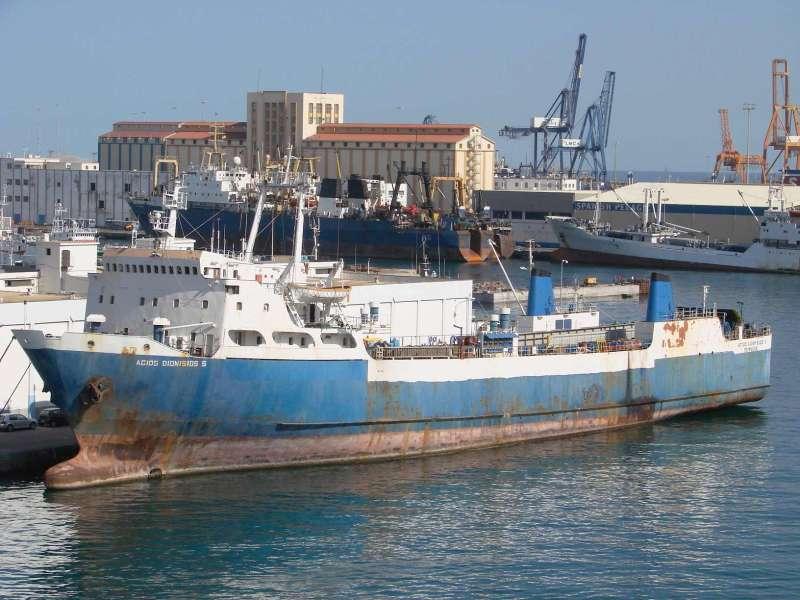 """Este buque fue el antecedente de la serie posterior tipo """"Beni"""""""