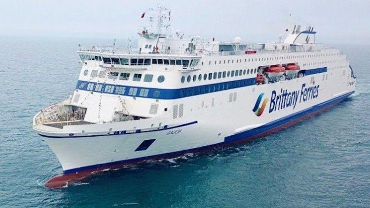 "El ferry ""Galicia"", primero de tres buques E-Flexer fletados a Stena RoRo"