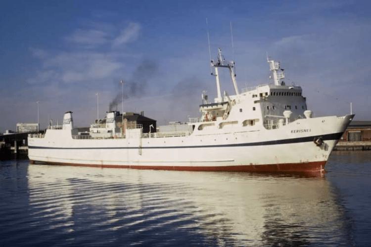 "El buque ""Kerisnel"", el primer barco de Brittany Ferries"