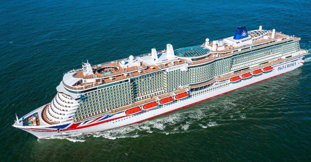 """El buque """"Iona"""", nuevo flag ship de P&O Cruises"""