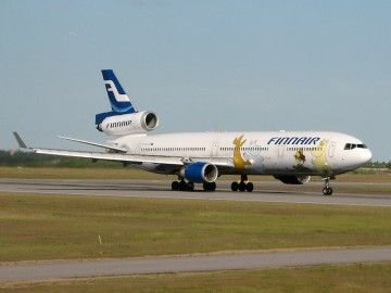 Finnair operó una flota de siete aviones MD-11