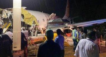 Estado en el que ha quedado el avión siniestrado