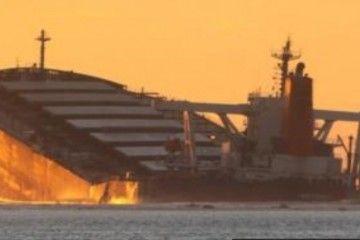 "El bulkcarrier ""Wakashio"" se ha hundido de popa"