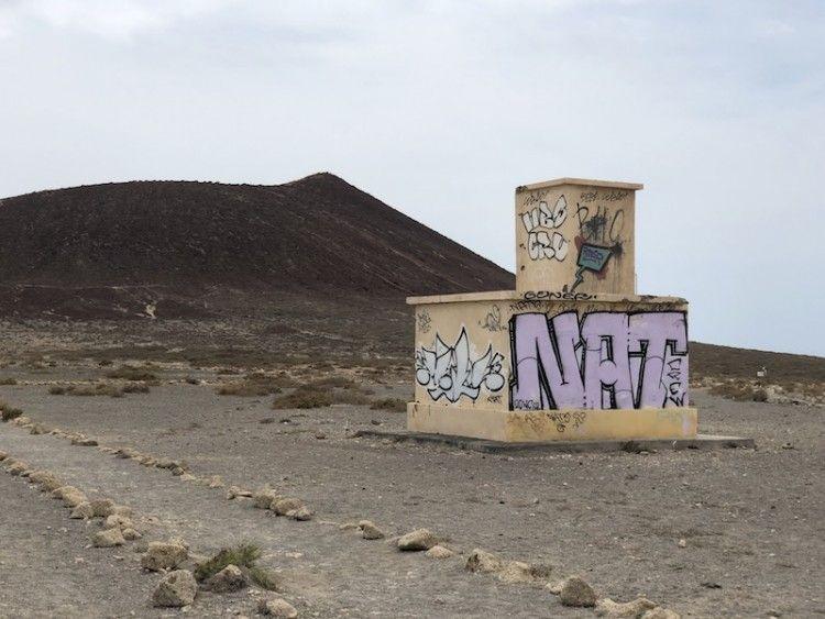 Estado actual en el que se encuentra la antigua torre de control
