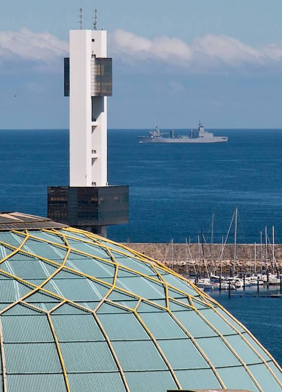 """El buque AAOR """"Supply"""" navega en mar abierta"""