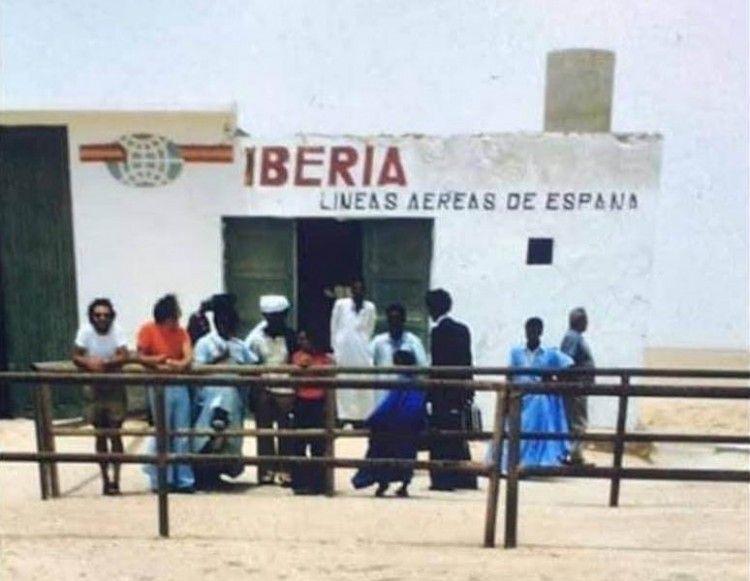 La terminal de Iberia en La Güera