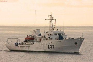"""El buque hidrográfico """"Tofiño"""" (A 32), de nuevo en Canarias"""