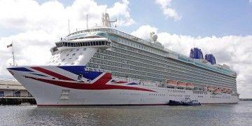 Toda la flota de P&O Cruises está amarrada a la espera de 2021