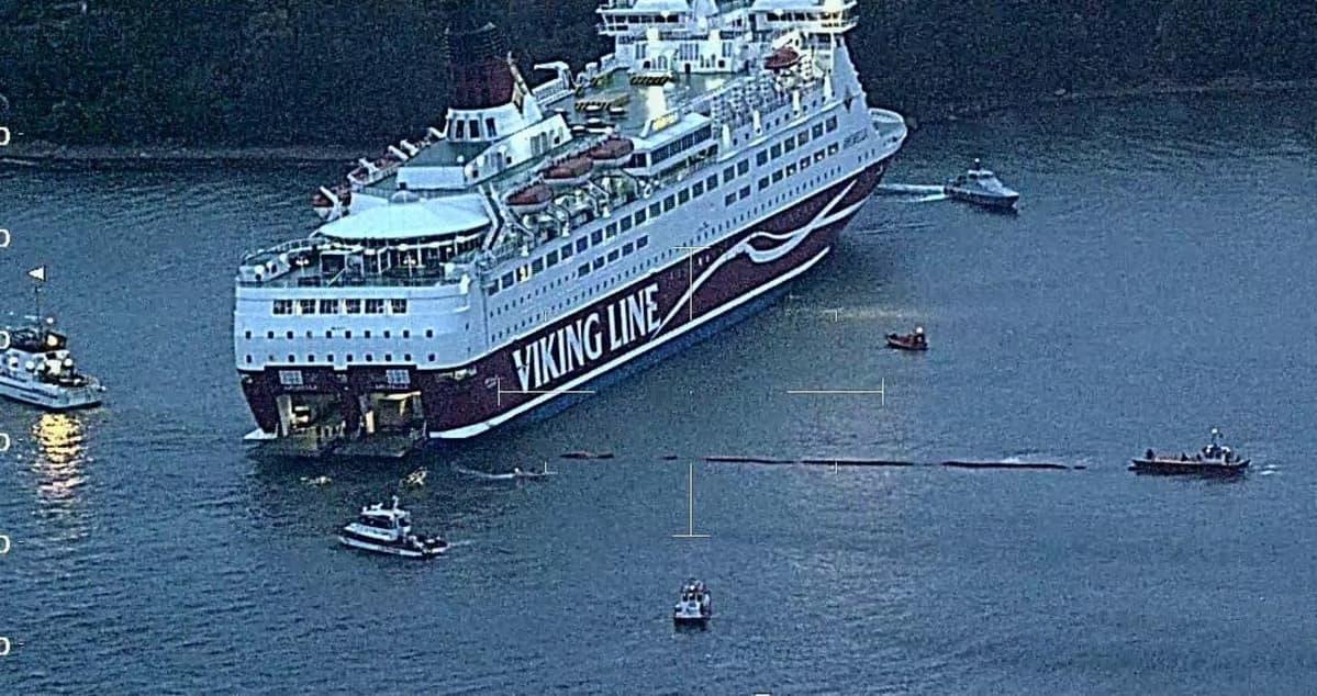 Se estudia el reflotamiento del buque para su traslado al astillero de Turku