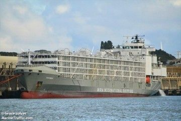 """Este es el buque """"Gulf Livestock 1"""", desaparecido con 43 tripulantes"""