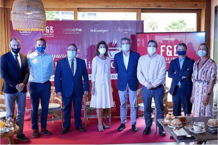 """Asistentes al encuentro """"Los desayunos de Mallorcadiario.com"""""""