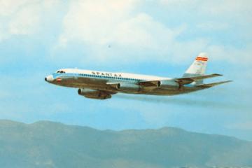 Convair CV990A Coronado, un avión legendario en la aviación española