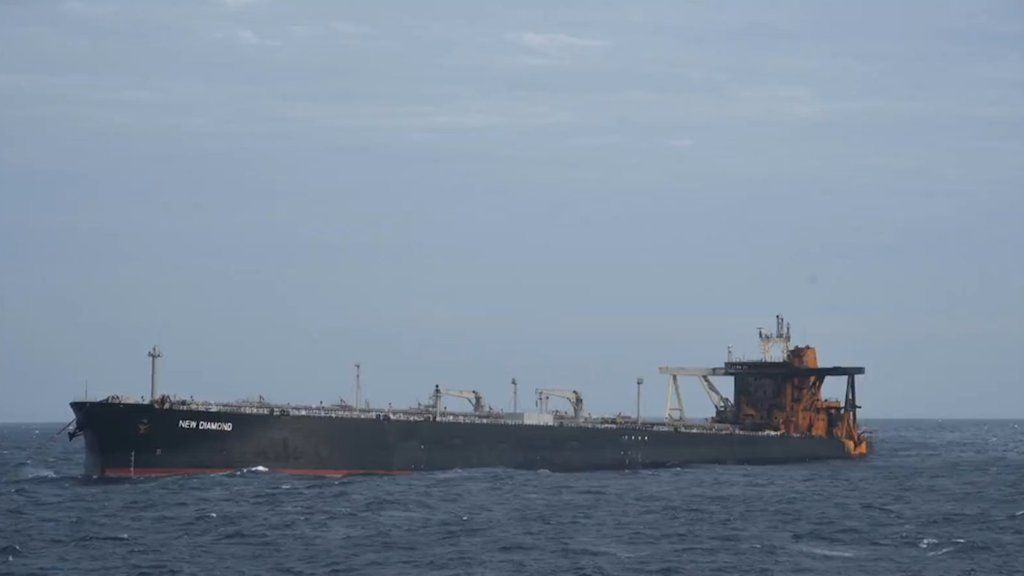 La carga de 270.000 toneladas de crudo se mantiene intacta