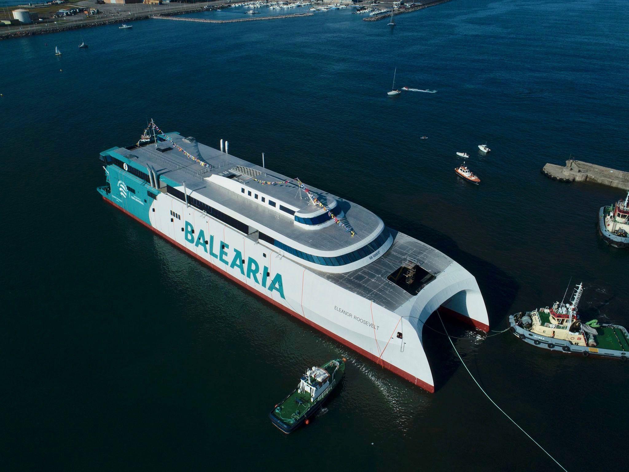 El nuevo buque tiene licencia Incat