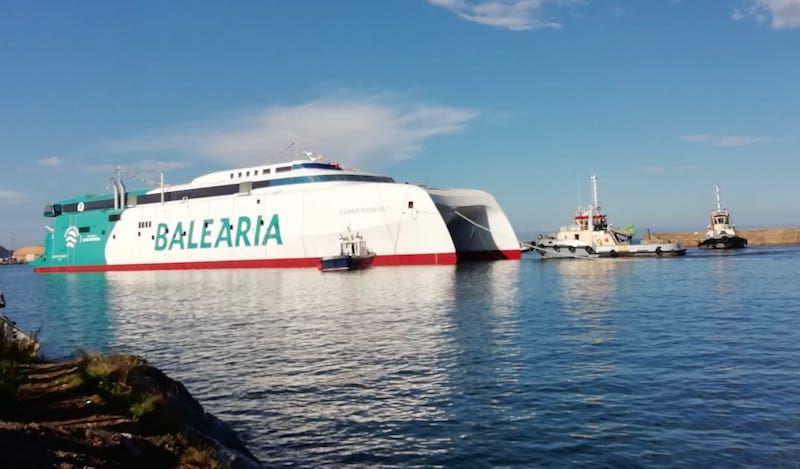 Hoy es un día importante para Balearia y para Astilleros Armón