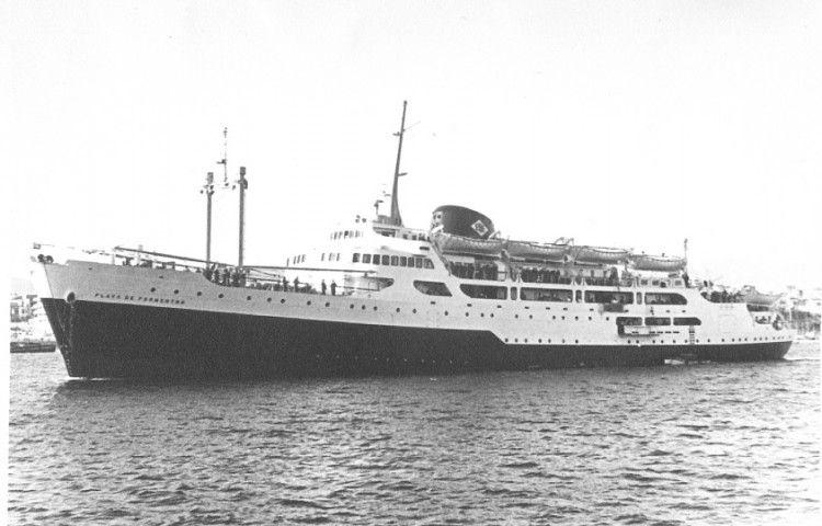 """El buque """"Playa de Palmanova"""", recién entregado a la Empresa Nacional Elcano"""