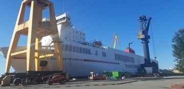 """El buque """"José M. Entrecanales"""" se encuentra en Astander"""