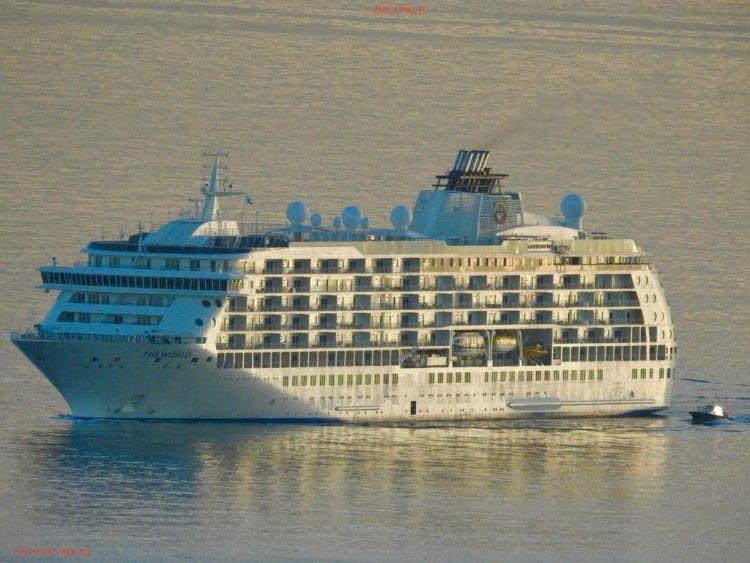 """El buque """"The World"""" pasará una invernada en Tenerife"""