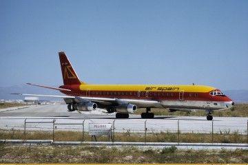 """Douglas DC-8 serie -21 de Air Spain """"Isla de Ibiza"""""""