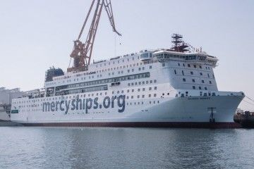 """El buque hospital """"Global Mercy"""" saldrá a pruebas en diciembre próximo"""