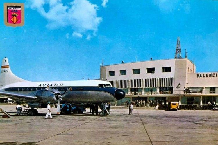 CV-440 Metropolitan de AVIACO en el aeropuerto de Valencia