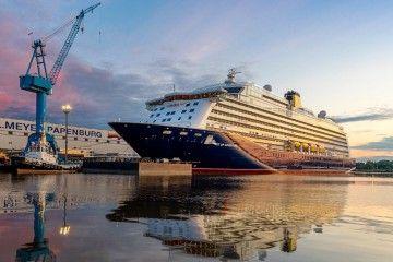 """El nuevo buque """"Spirit of Adventure"""", recién entregado por el astillero Meyer"""