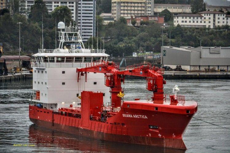 """Este es el nuevo buque """"Siuana Arctica"""""""