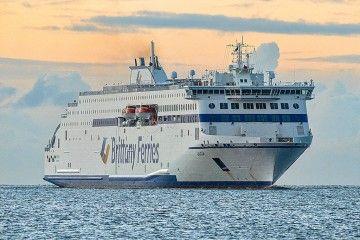 """El ferró """"Galicia"""", la más reciente incorporación de Brittany Ferries"""